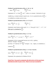 Problems_partial derivatives 021211 - Copy