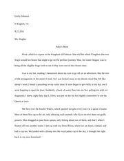 of mice and men reaction essay example emily johnson h english 5 pages folktale example
