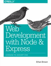 Web Development with Node and Express - Ethan Brown.pdf