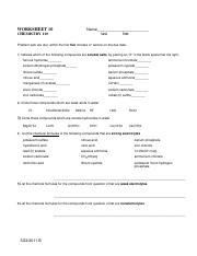 Oxidation Numbers and Redox Reactions Worksheet Answer Key ...