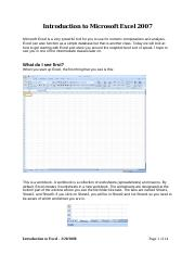 Introduction to Excel 2007.pdf