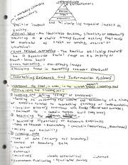 marketing communications notes Basic notes from core mba marketing course, focusing on marketing communications.