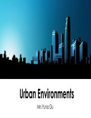 Urban environments studies.pdf