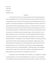 ENTO 2003 - Insect Fiction story.docx