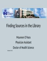 Finding Sources in the Library.pptx