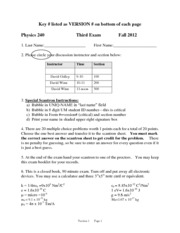 Fall 2012 Midterm 3 Solutions