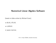 AdditionalLecture3-num-lin-alg-software