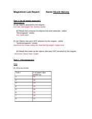 Report Sheet for Magnetism Lab.docx