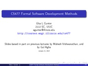 Class Intro to software 1
