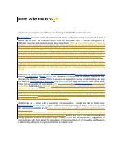 Bard Why Essay V2.docx