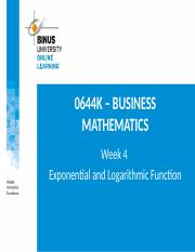 PPT4-Exponential and Logarithmic Functions-R1 (PPTX).pptx