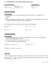 3.4 - Exponential and Logarithmic Equations.pdf