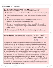 CHAPTER 6-RECRUITING-Managing Human Resources, 9th Edition