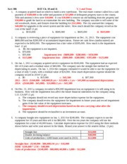 Acct 386 RAT Ch 10 and 11 Fall 2013 V1 and Team Answer Key