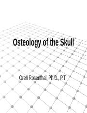 Osteology of the skull.pptx