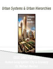 GEOG 1HB3 - Fall2015 - Lecture 15 -Urban Systems and Urban  Hierarchies  student-A2L.pptx