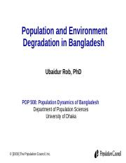 lecture 12 Population Environment.ppt