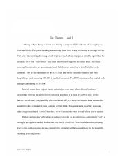 Business Law - Fact Pattern 1 and 2 Term Paper.pages_Redacted