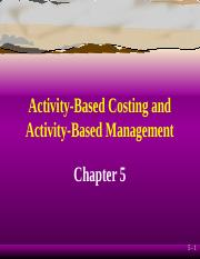 Cost Accounting - ch05.ppt