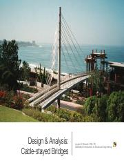 Lecture Slides - Cable-stayed Bridges