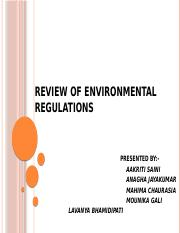 REVIEW OF ENVIRONMENTAL REGULATIONS.pptx