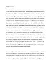 "an analysis of the final four pages of the metamorphosis by franz kafka Free essay: in the metamorphosis, franz kafka transforms the main  on page  four this is evident when gregor says,"" what a grueling job i've picked"" he has   found throughout the society in which he is placed leads to his ultimate downfall."
