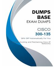 Cisco CCNP 300-135 TSHOOT Dumps V31.02.pdf