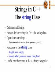 11400_Lecture 8 Strings.ppt