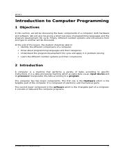 Chapter 01-Introduction to Computer Programming.doc