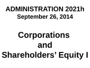 AD 2021 Sept 26,2014 Equity I with iclickers
