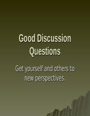 Good-Discussion-Questions.ppt