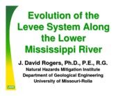 Evolution of the Levee System Along the Mississippi
