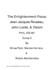 The Enlightenment-Philosophy