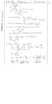 Exam _1 Solutions