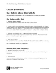 Our Beliefs About Eternal Life.docx