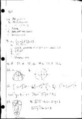 Multivariable Calculus 11.1 Homework Solutions