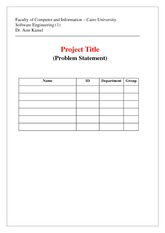 CS251_ASSIGNMENT_Problem Statement Template