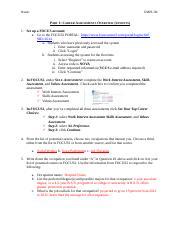SDV - Career paper - 1 SDV 101 Career Paper Northern Virginia