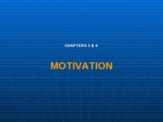 Motivation chap5 & 6