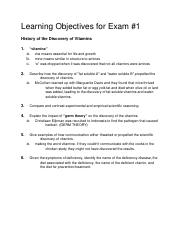 Exam 1 Learning Objectives.docx