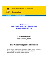 ACCT1511_Accounting_and_Financial_Management_1B_S12013