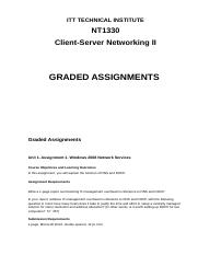 NT1330 graded assignments release.docx