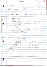 Linear And Quadraric Functions Lecture Notes 11