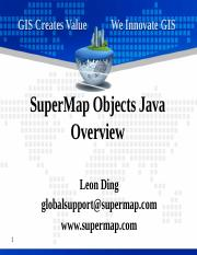 1 Introduction to SuperMap Objects Java.pptx