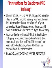 Basics of PPE Training.ppt