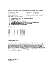AOD_1096__Syllabus_SPRING 2010  REVISED