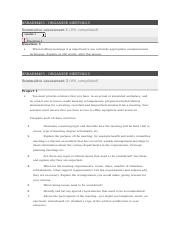 BSBADM405 - Organise Meetings Summative Assessment Questions.docx