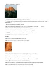Chapter 7Weathering and Erosion
