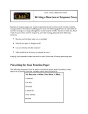 How to Write a Response Essay.docx
