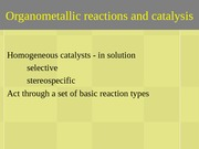 11-reactions and catalysis